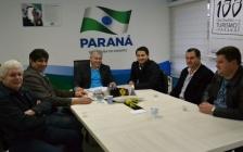 Deputado Paulo Litro busca apoio para os Jogos Abertos da Cantuquiriguaçu – JARCAN´s junto ao Governo do Estado