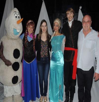 Notável e SESI/PR promovem espetáculo Frozen em Ampére