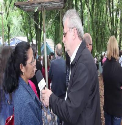 VIDEO: Entrevista com os Romeiros que visitaram o Santuário Diocesano