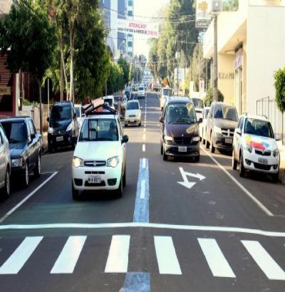 Binário entra em funcionamento com meta de melhorar trânsito na área central